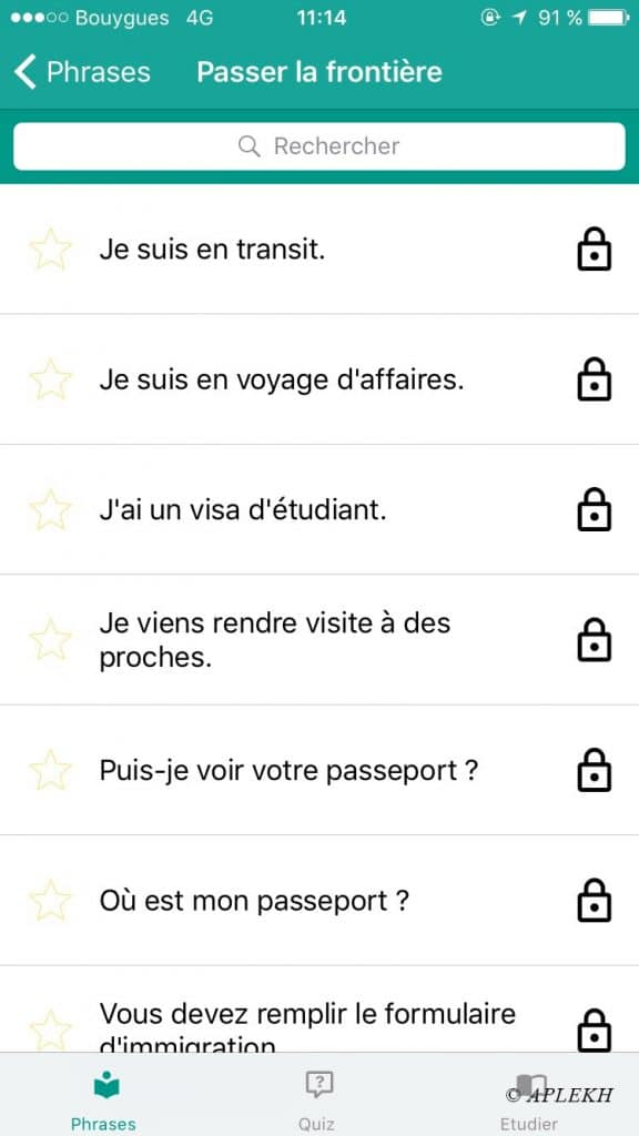 Application Le Cambodgien facile